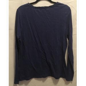 Bandolino Tops - Size Large Bandlono Knit Top Blouse Blue
